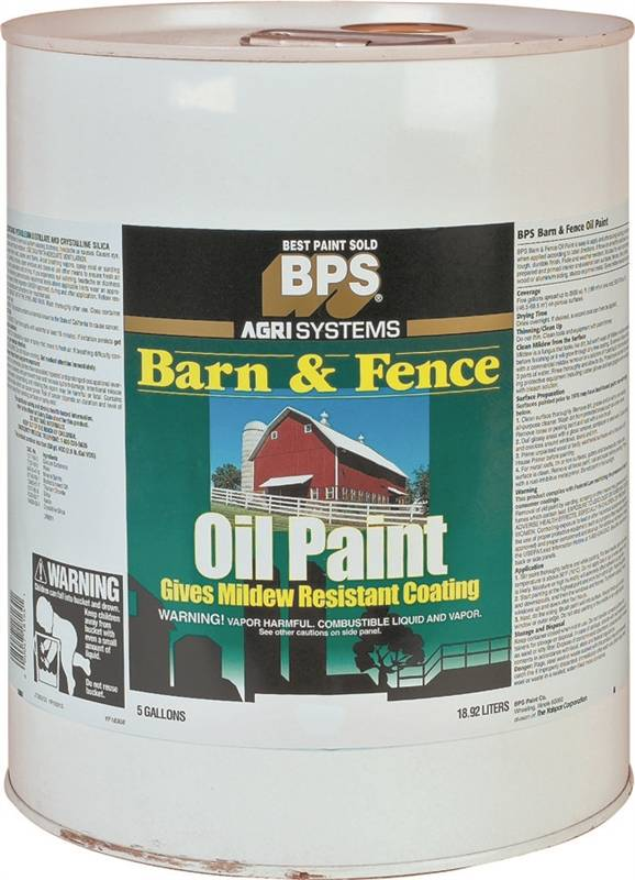 Valspar 18 2121 11 Oil Based Barn And Fence Paint 5 Gal