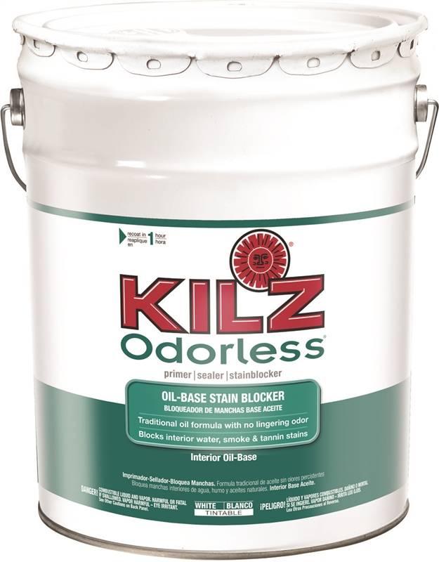 Kilz 10040 interior primer sealer 5 gal liquid white - Kilz 5 gallon interior oil primer ...