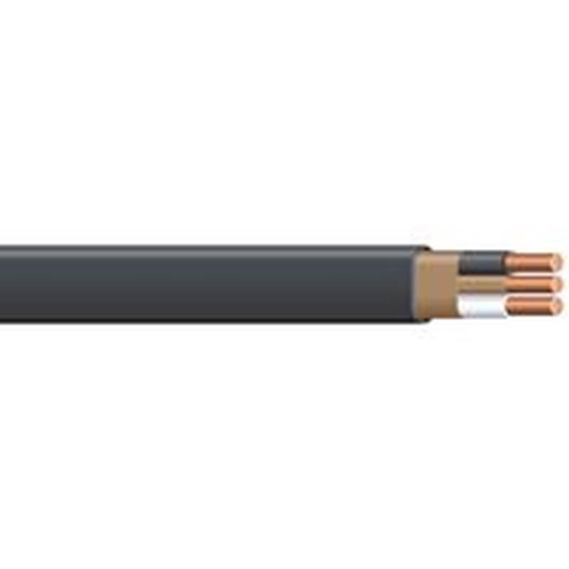 Romex SIMpull 6/2NM-WGX125 Type NM-B Building Wire, 6/2, 125 ft, PVC