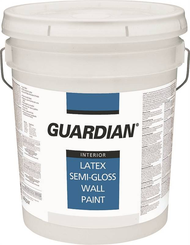 Guardian Professional Latex Wall Paint 5 Gal Pail 250 350 Sq Ft Gal Pastel Base