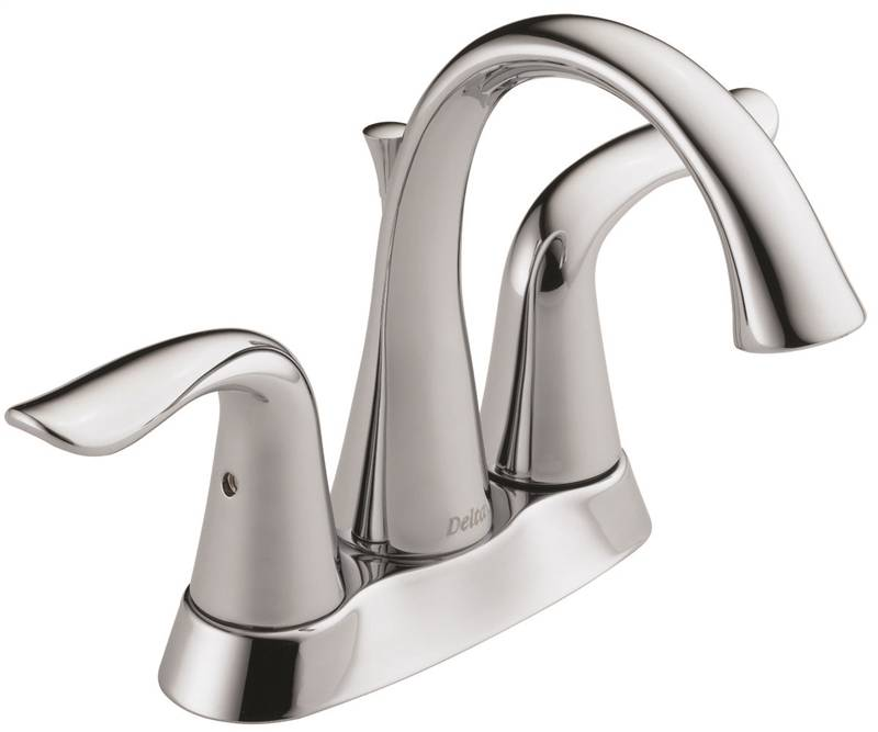 Delta Lahara Lavatory Faucet 5 In X 6 38 In Spout 4 In Center