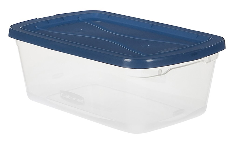 Rubbermaid Home 3Q3100CLCBL Snaptopper Clear Storage Container
