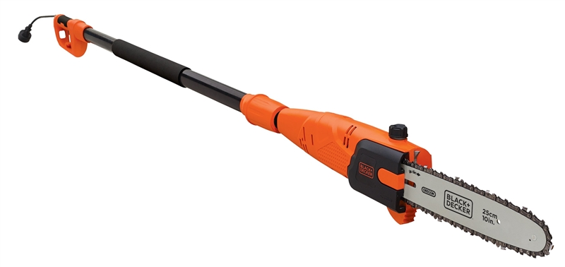 Black & Decker PP610 Corded Pole Saw, 120 V, 6 5 A, 10 in