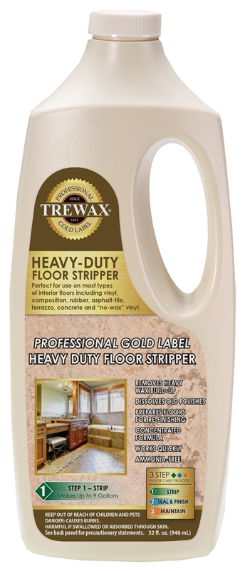 Trewax 887045027 Instant Water Based Floor Wax Stripper