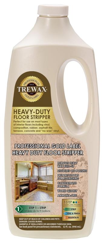 Trewax 887045027 Instant Water Based Floor Wax Stripper