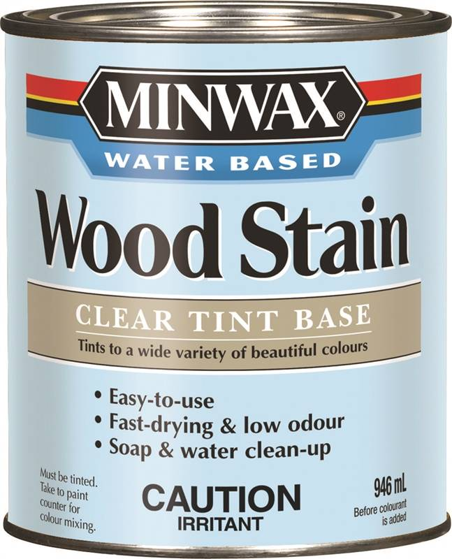 Minwax CM61807 Color Stain, 1 qt, Clear Tint Base