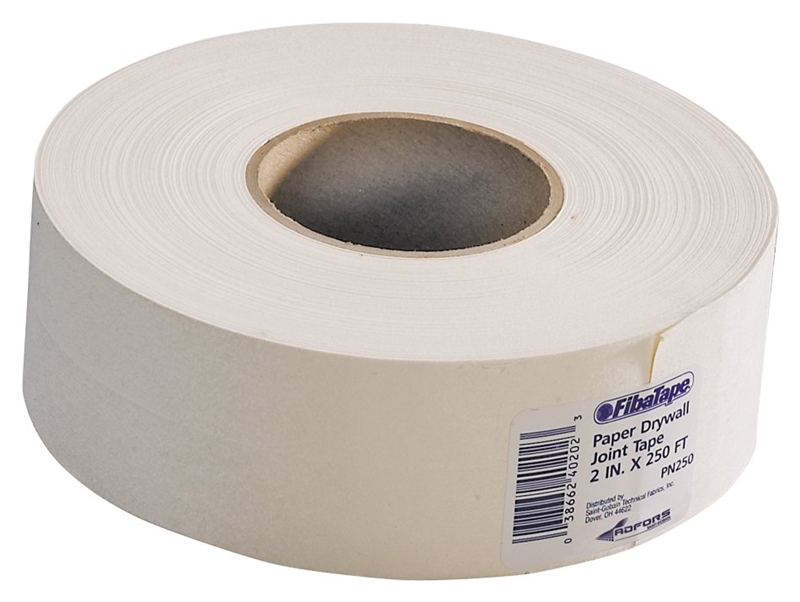 How Use Paper Drywall Tape : Adfors fibatape fdw u drywall joint tape in w