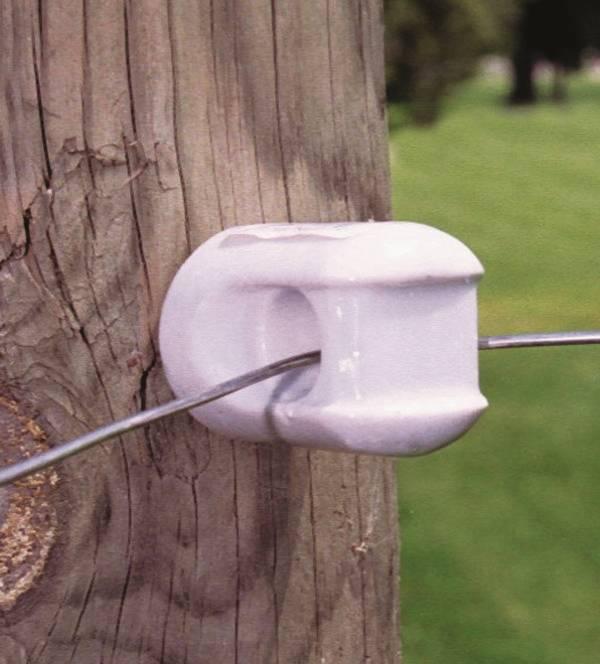 Zareba Mp 1933 Electric Fence Insulators Porcelain Screw In