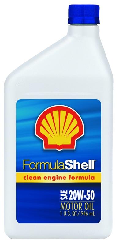 OIL MOTOR FORMULA SHELL 20W50 - Case of 12