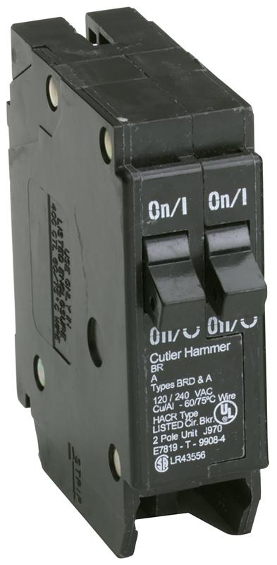 2 Cutler hammer single 15 amp /& 2 pole 25 amp circuit breaker NEW NEW type BRD