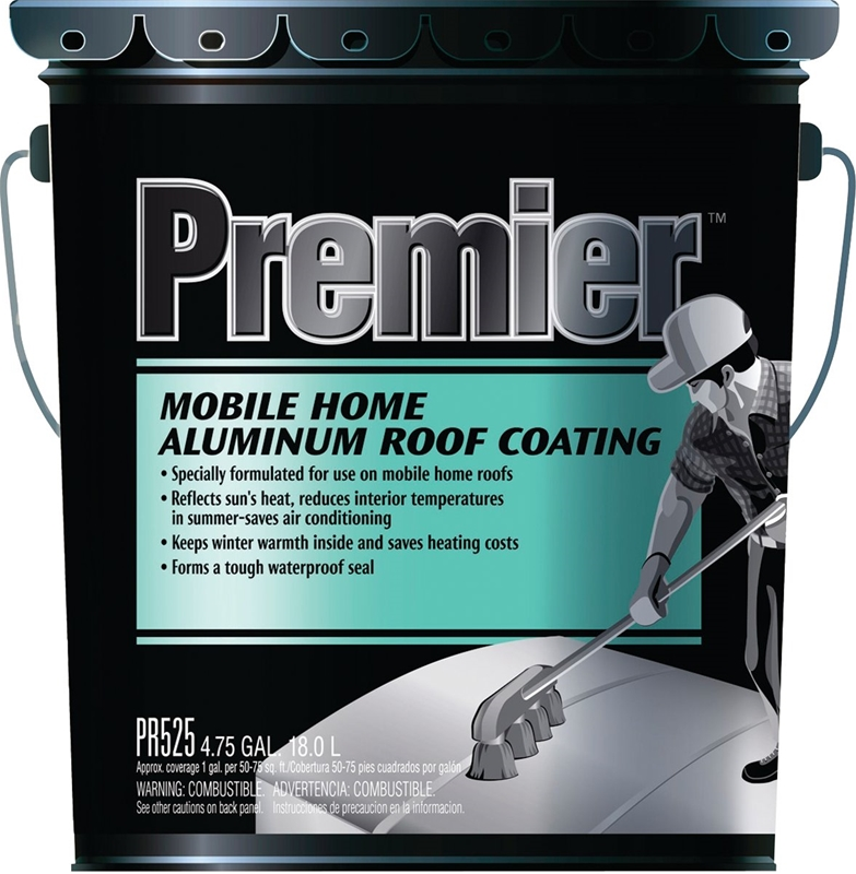 Henry Pr525070 Fibered Aluminum Roof Coating 5 Gal