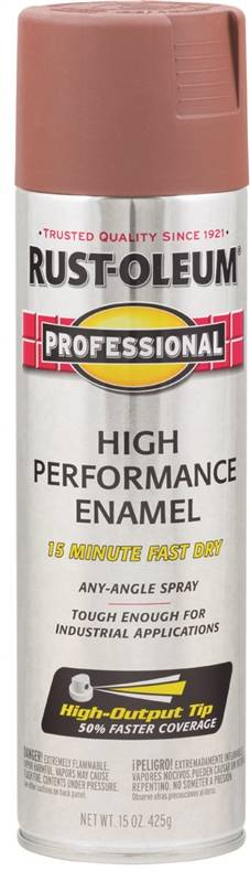 Rustoleum Professional Primer Spray, 15 oz Aerosol, Liquid, Red?