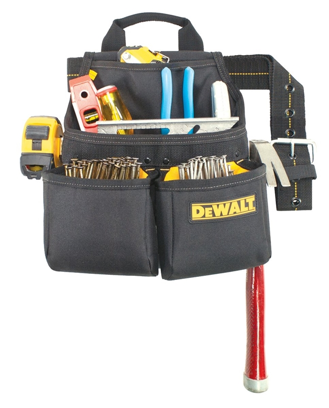 Dewalt polyester zippered closed tool bag terapump trfa01