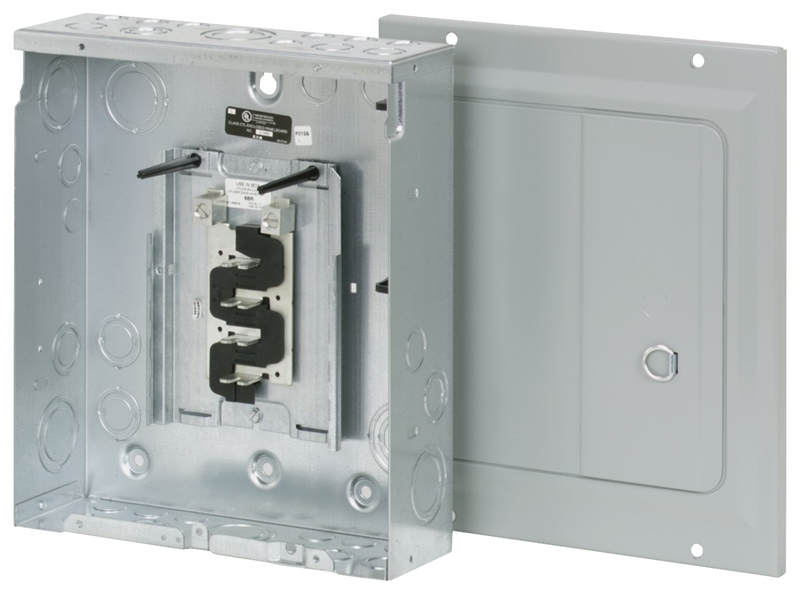 Eaton Cutler Hammer Ch12l125b Single Phase Main Lug Load: Eaton BR816L125SDP Load Center, 120/240 VAC, 125 A, Main Lug
