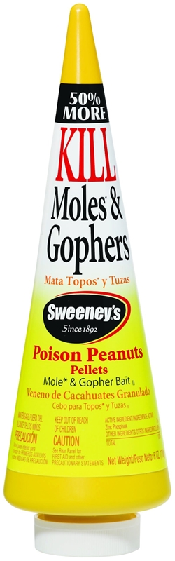 Sweeney/'s 6-oz Ready To Use Mole and Gopher Killer  peanut pellets