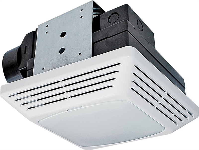 Air King High Performance Exhaust Fan/Light Combo, 26 W