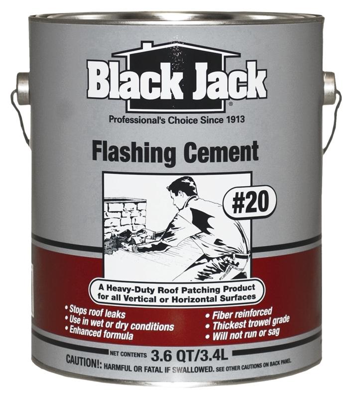 Black Jack 6235 9 34 Flashing Cement 1 Gal Pail 12 Sq