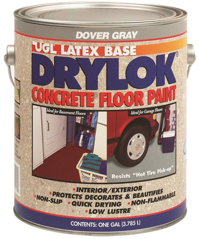 Paint Cncrt Flr Dover Gray Ga Case Of 2