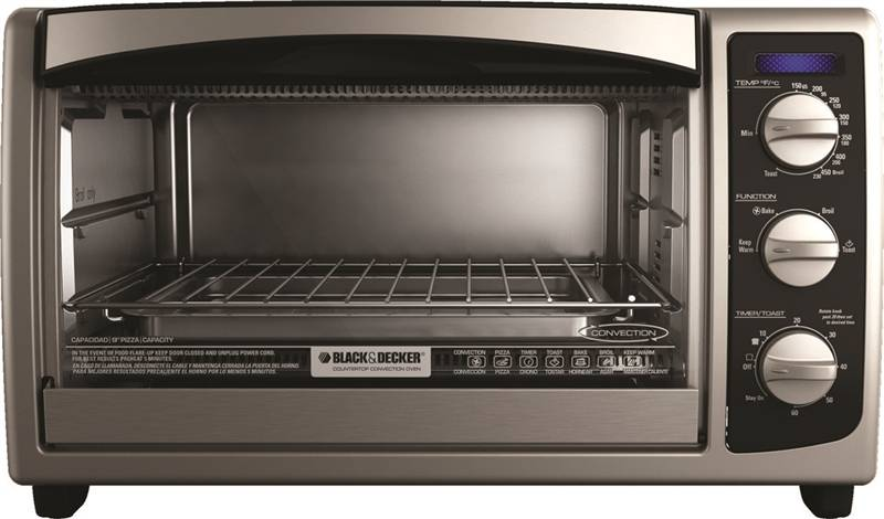 Black Amp Decker To1675b Conventional Toaster Oven 6 Slice