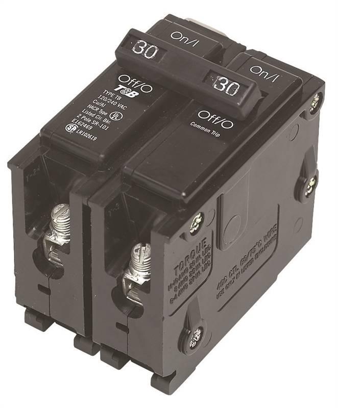 Mes Q250 Standard Miniature Circuit Breaker 120 240 Vac
