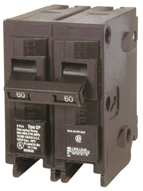 Mes Q260 Standard Miniature Circuit Breaker 120 240 Vac