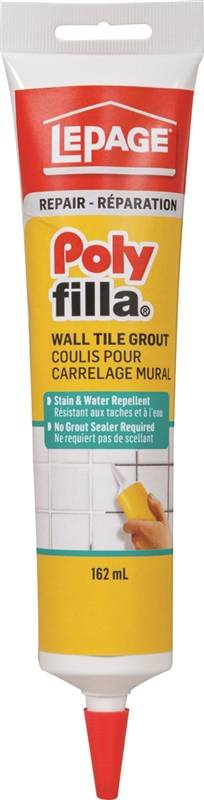 Lepage 394892 Lepage Poly Filla Tile Grout Tube 162 Ml