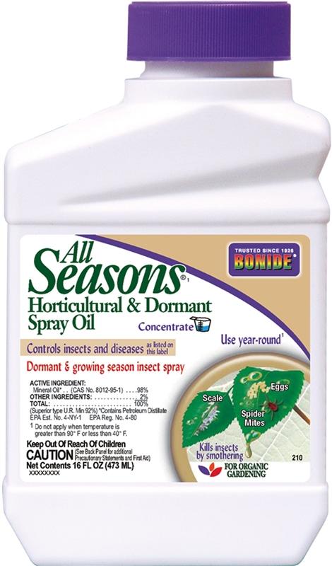 Bonide All Seasons 210 Horticultural Oil 1 Pt Bottle