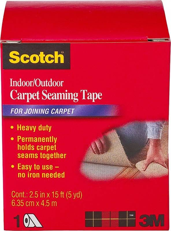 Scotch Ct4010dc Indoor Outdoor Carpet Seaming Tape 2 1 2