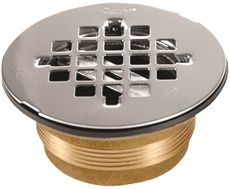 Oatey 140 Shower Stall Drain 2 In Brass