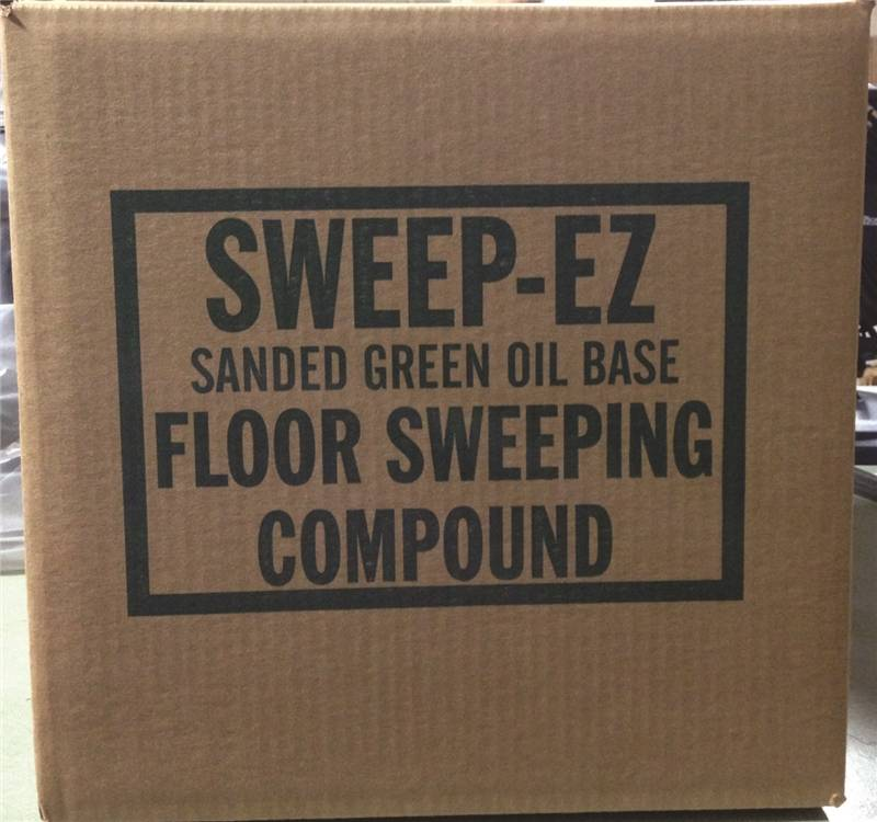 Sorb All 3402 Sanded Oil Base Sweeping Compound 50 Lb Green