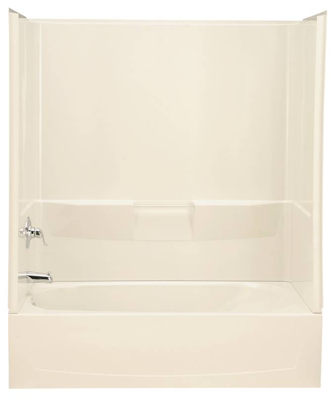 Sterling Performa 7104 3-Piece Shower Wall Kit, 60 in L X 30 in W X ...