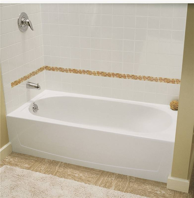 Performa 71041110-0 Left Hand Bathtub, 60 in L X 29 in W X 15 in H ...