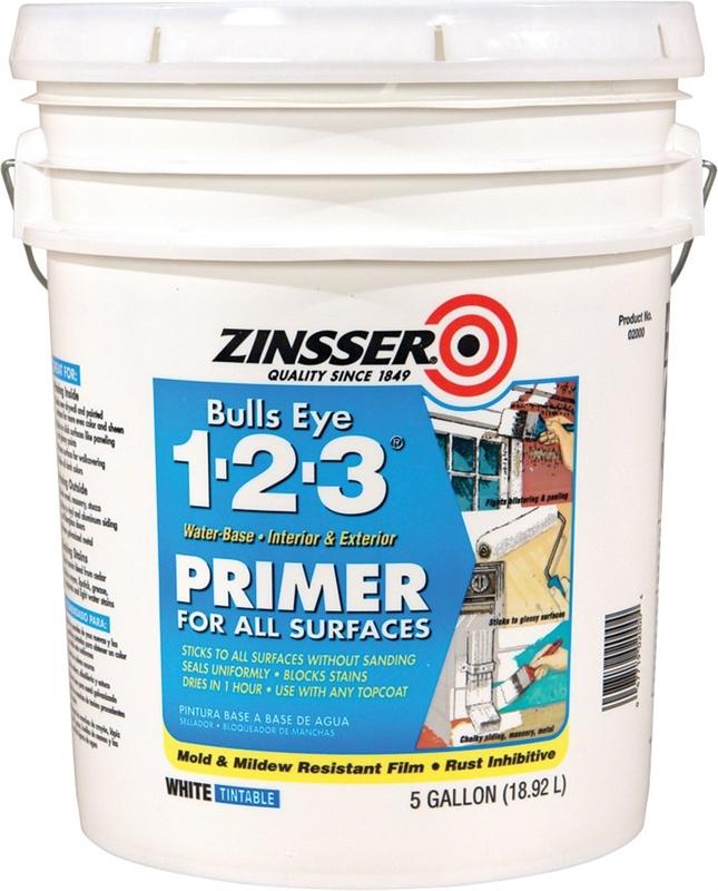 Zinsser 02000 Bulls Eye 1-2-3 Primer/Sealer