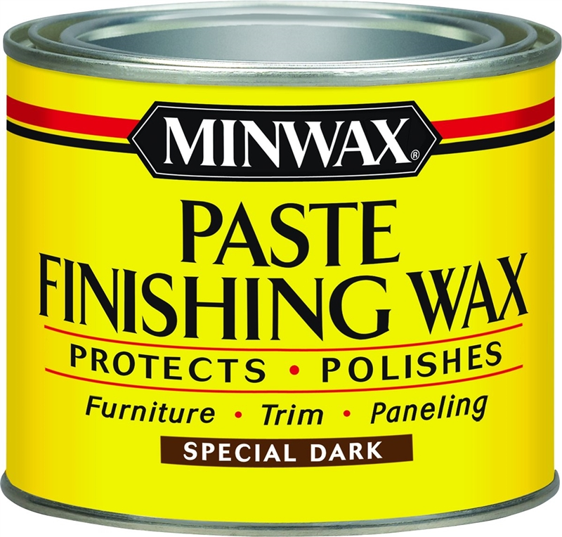 Minwax 786004444 Finishing Wax, 1 Lb, Dark Wood