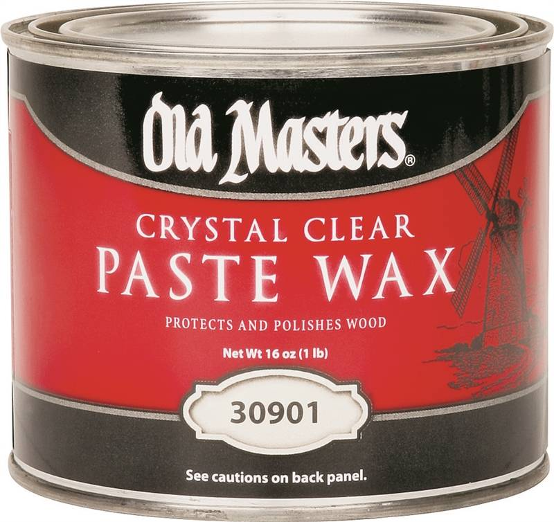 Old Masters 30901 Crystal Paste Finishing Wax, 1 Lb, Can