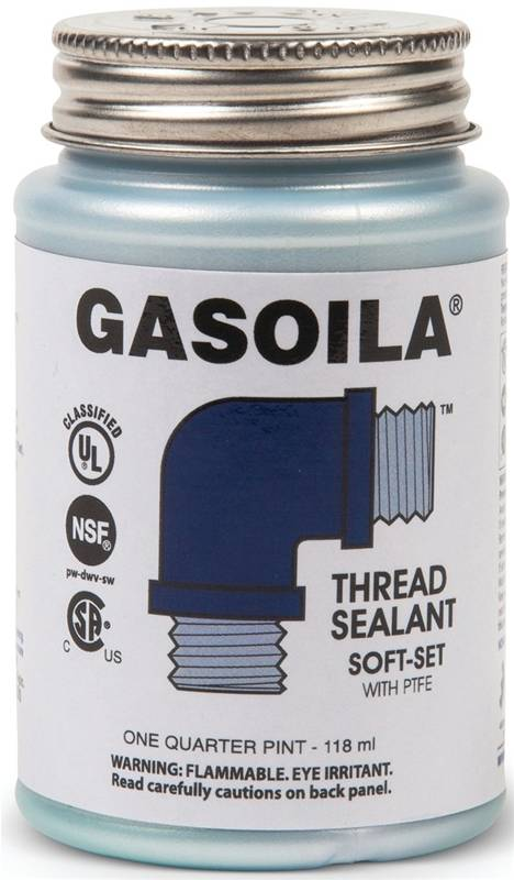 gasoila ss04 general purpose thread sealant with ptfe paste 4 oz