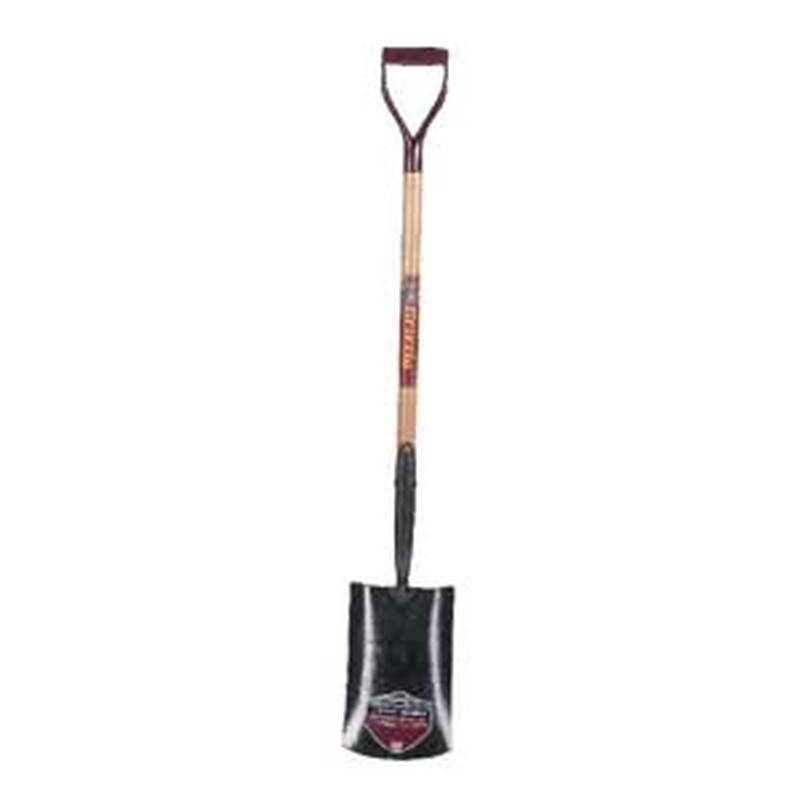 Garant GFR02D35 Industrial Grade Irrigation Shovel, 7-1/2 In W X 12-/14 In L, Tempered Steel, 27