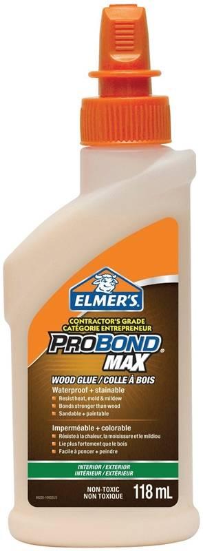 Elmers 69220 Contractor 39 S Grade Interior Exterior Pourable Waterproof Wood Glue 118 Ml Bottle