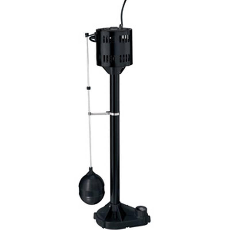Simer 5020B 1//3 HP Pedestal Sump Pump