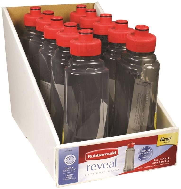 Rubbermaid Fg1m1800tntgr Reveal Spray Mop Refill Bottle
