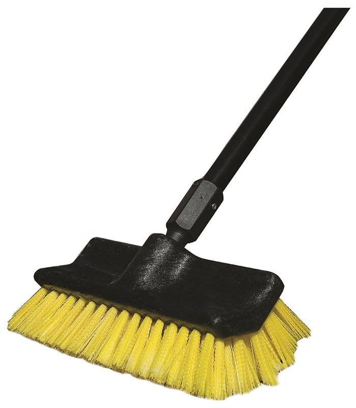 Newell Rubber Maid 1880164 Scrub Brush 10 In Stiff