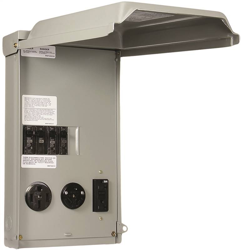 Ge Ge1lu532ss Rv Power Outlet Panels Outdoor Nema 3r