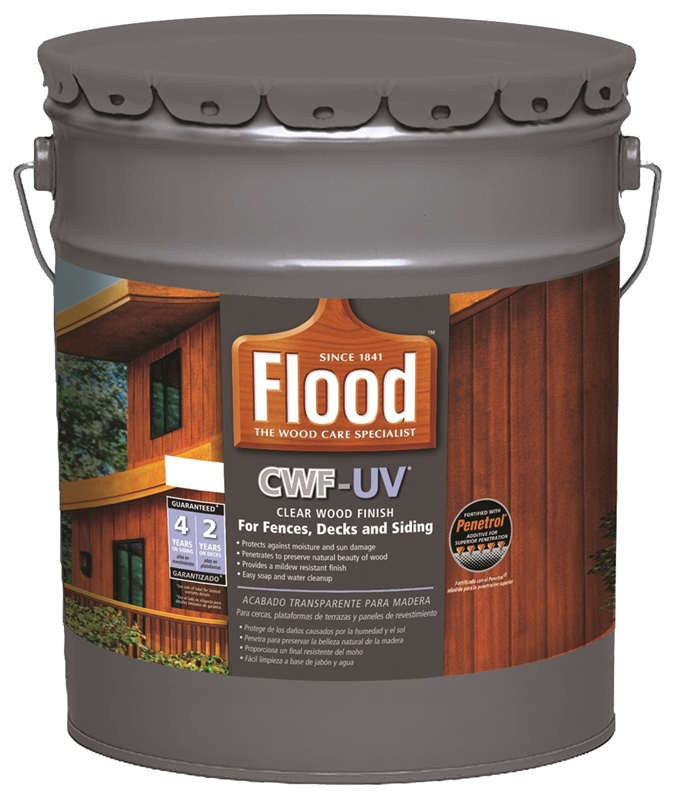 Flood Ppg Fld542 05 Cwf Uv Exterior Wood Finish Clear