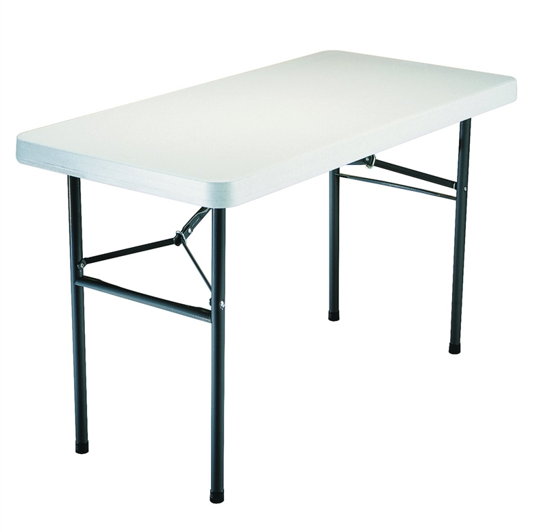 Table Utility Poly Fold 4ft