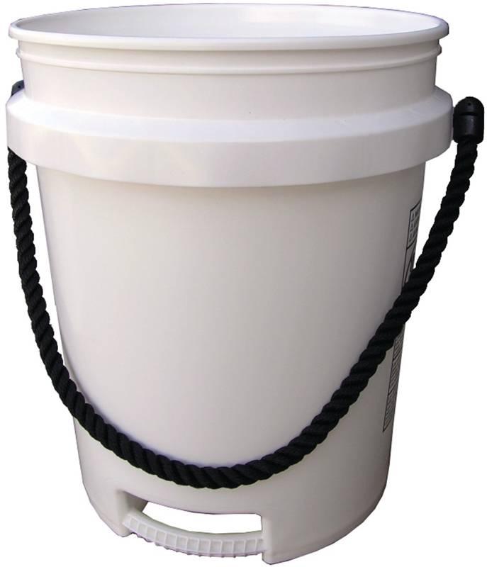 encore plastics 500441 paint pail 5 gal rope handle. Black Bedroom Furniture Sets. Home Design Ideas
