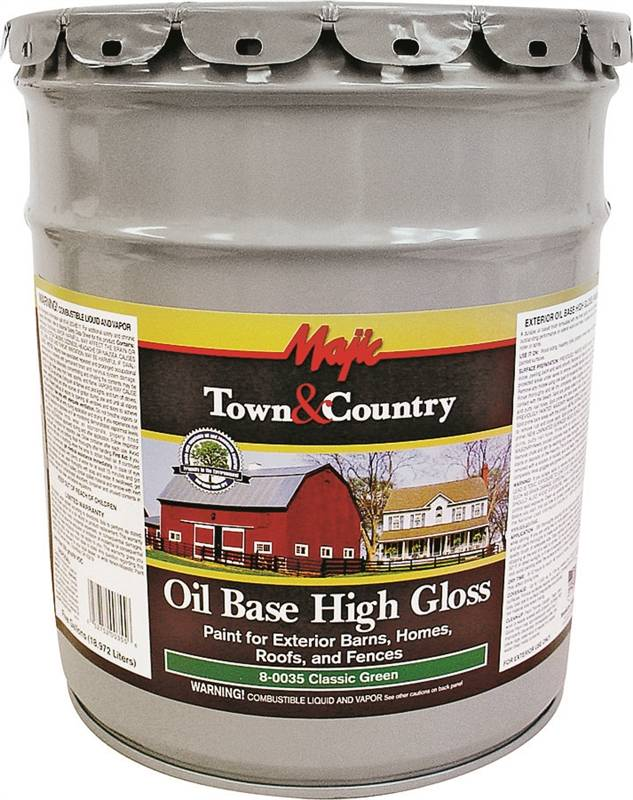 Majic Town Amp Country 8 0035 Oil Based Exterior Paint 5