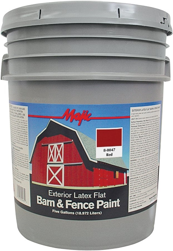 Majic 8 0047 Barn And Fence Paint