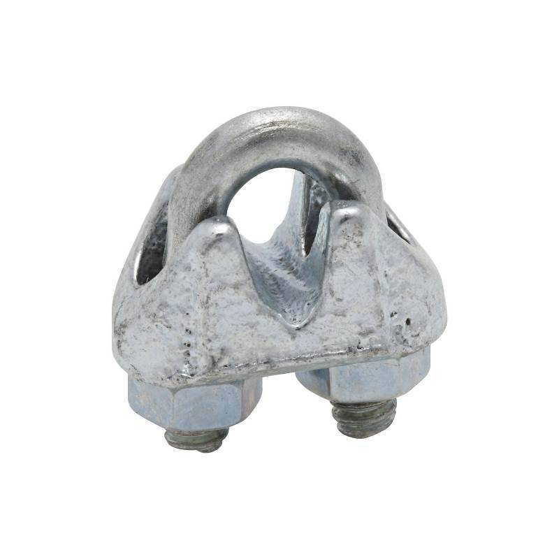 CABLE CLAMPS 1/8IN ZN PLT