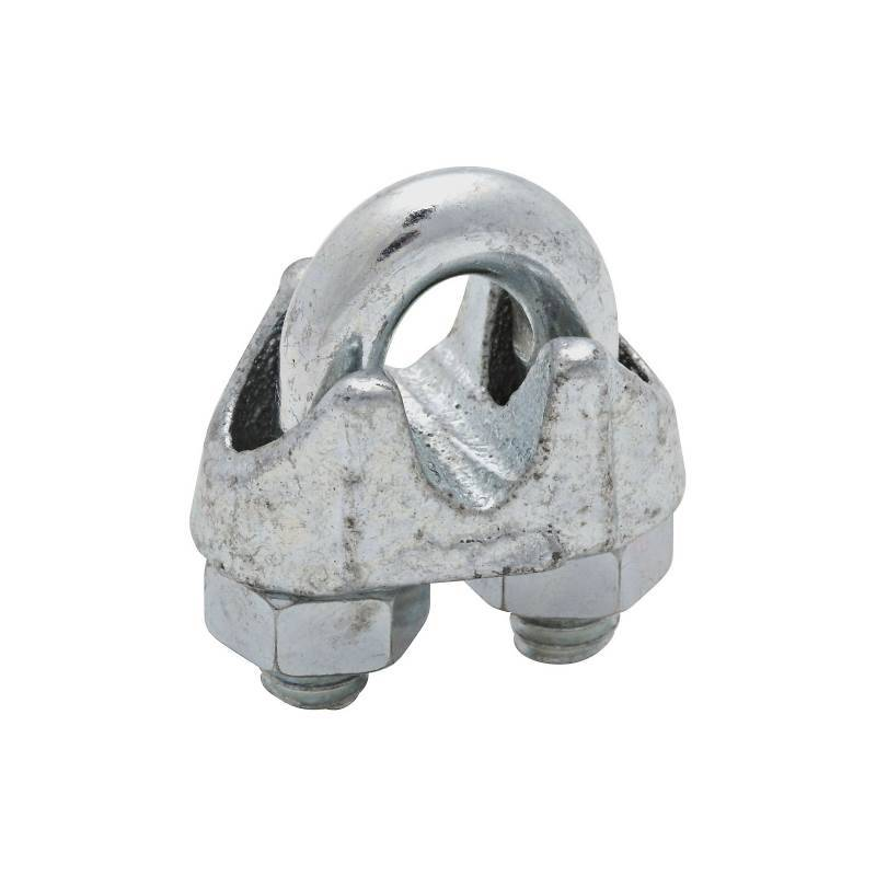 CABLE CLAMPS 1/4IN ZN PLT