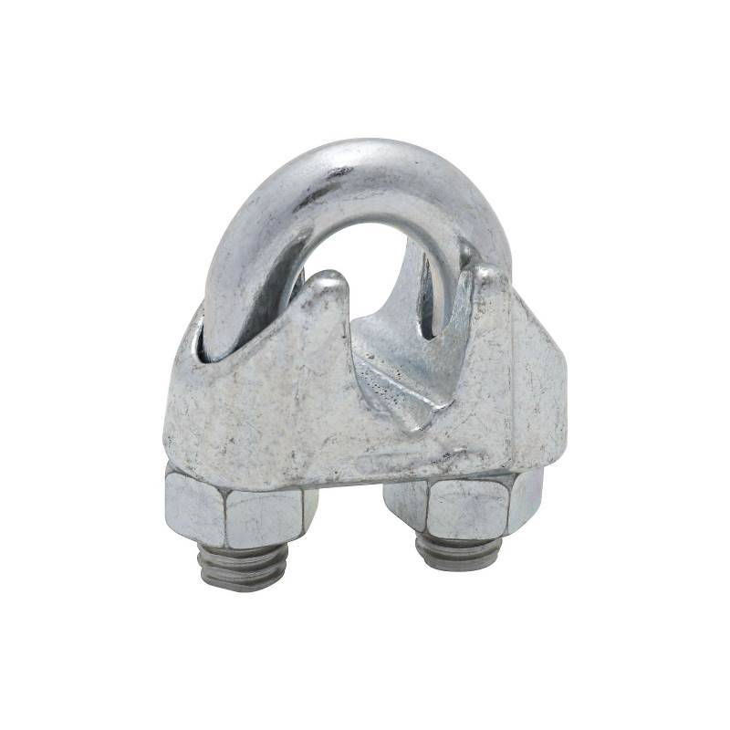 CABLE CLAMPS 3/8IN ZN PLT